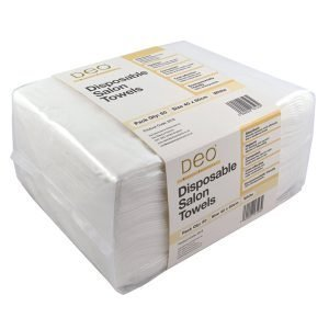 Deo Disposable White Towels