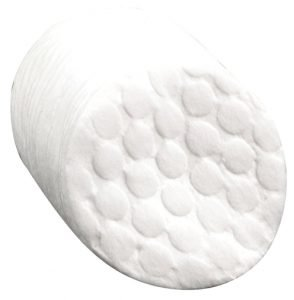 Deo Embossed Lint Free Cotton Discs